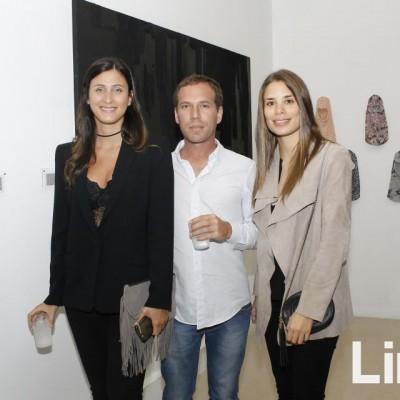 Olenka Giampetri, Billy Tuss y Cristina Ibacerna.