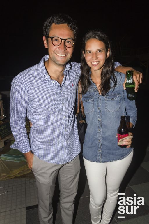 Paco Iturrizaga y Carolina Perez.