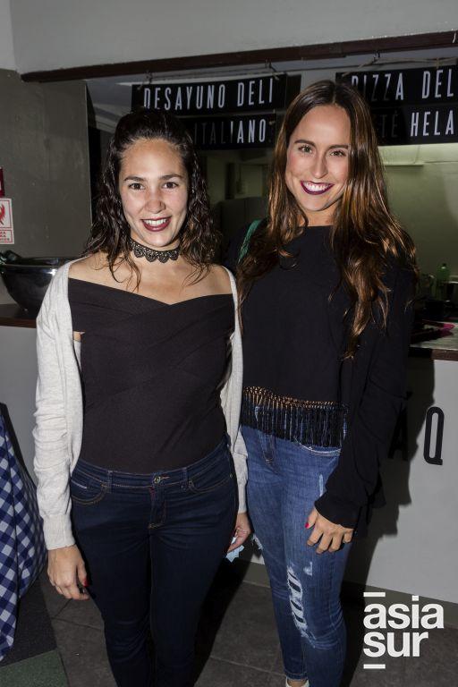 Paula de La Jara y Maria Fernanda Barrantes.