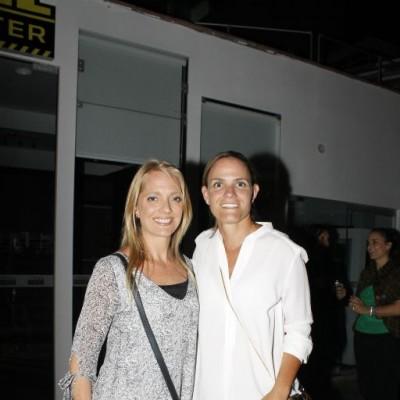 Rosa María Klinge y Ximena Querol.