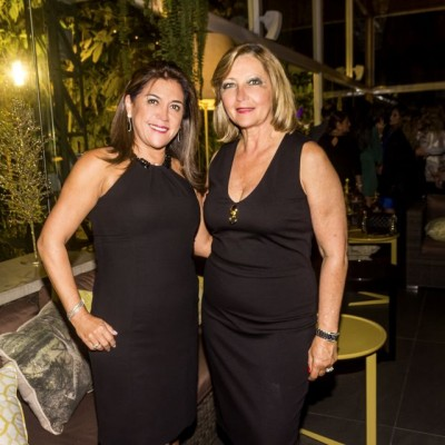 Rosario Cruz y Paola de Tebaldi.