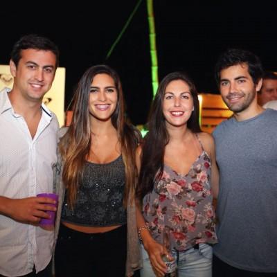 Sebastian Palacio, Maria Jose Arrospide, Ariana Cisneros y Yahir Alcázar.