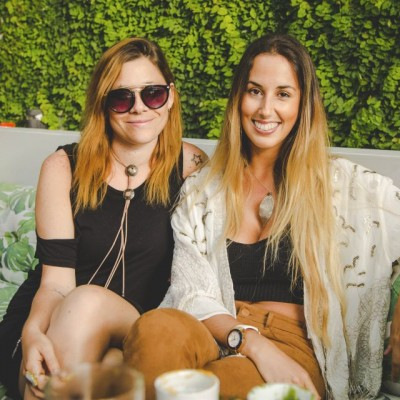 Stephanie Rosenblum y Eliana Vizquerra.