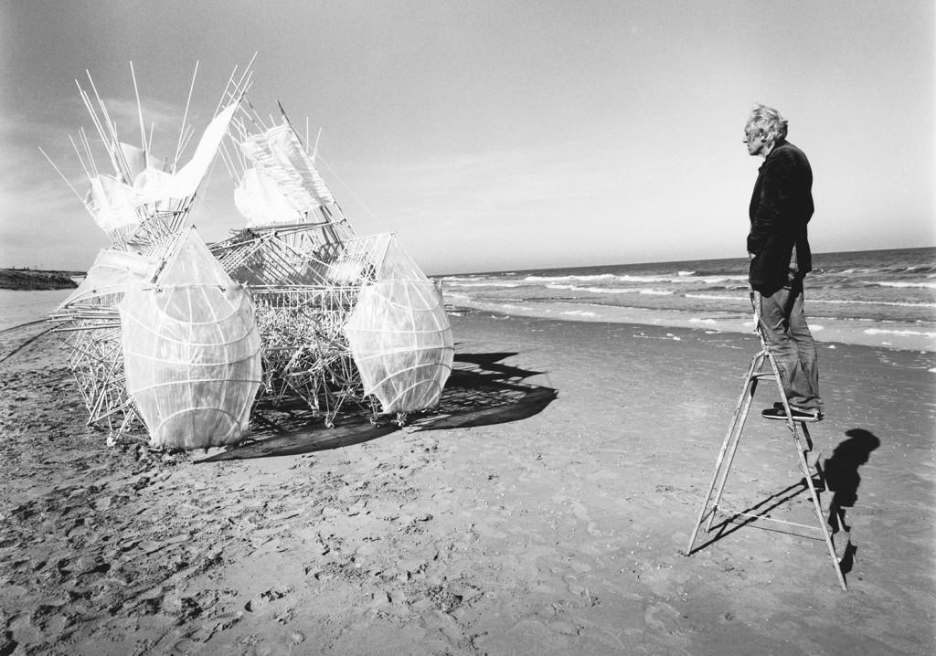 Theo Jansen & Animaris Siamesis (2009), Scheveningen beach, The