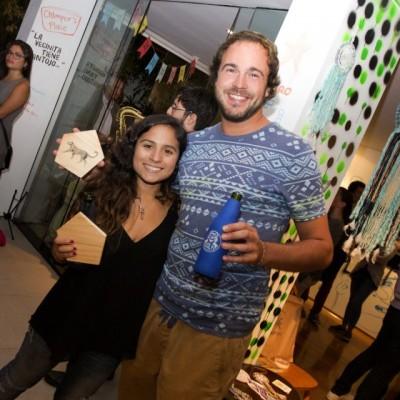 Vanessa de la Vega y Paul Ablard.