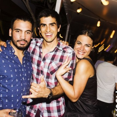 Alejandro Cosmopolis, Jaime Perez y Lorena Lizarraga  en Nikita, Boulevard de Asia.