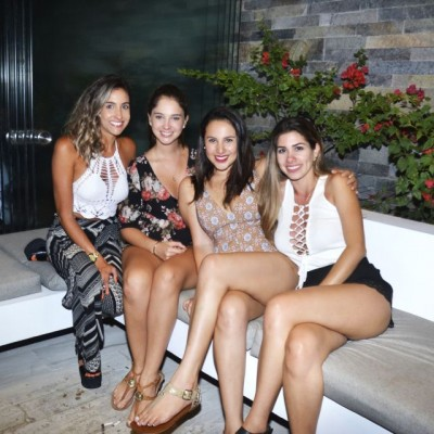 Alexandra Palomino, Fatima Rodriguez, Analia Bracamonte y Berenice Romero.