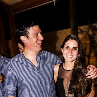 Alonso Villacorta y Maria Fernanda Arredondo en CM, Boulevard de Asia.