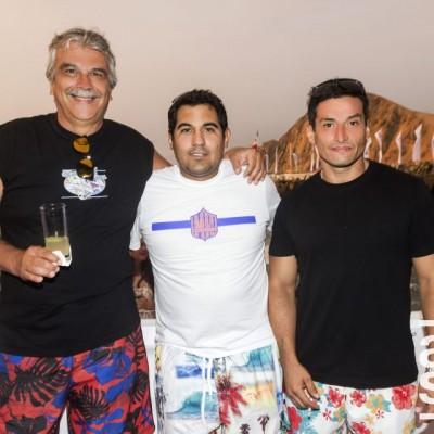 Andrea Martijena, Jorge Bellina y Javier Ibarra.