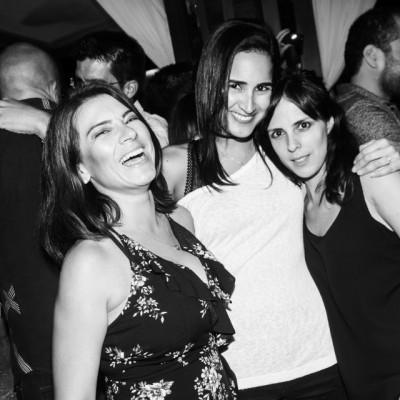 Brenda Ayres, Monica Diez Canseco y Silvana Talleri en CM, Boulevard de Asia.