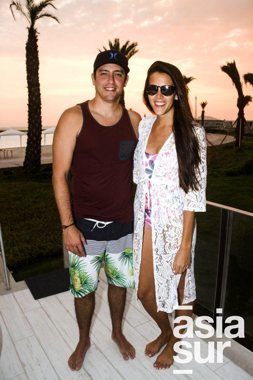 Brian Hemmerde y Camila Benzaquen