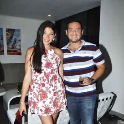 Carolina Martinez Muñoz y William Chavez.