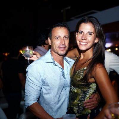 Coki Torres y Daniela Charpentier.