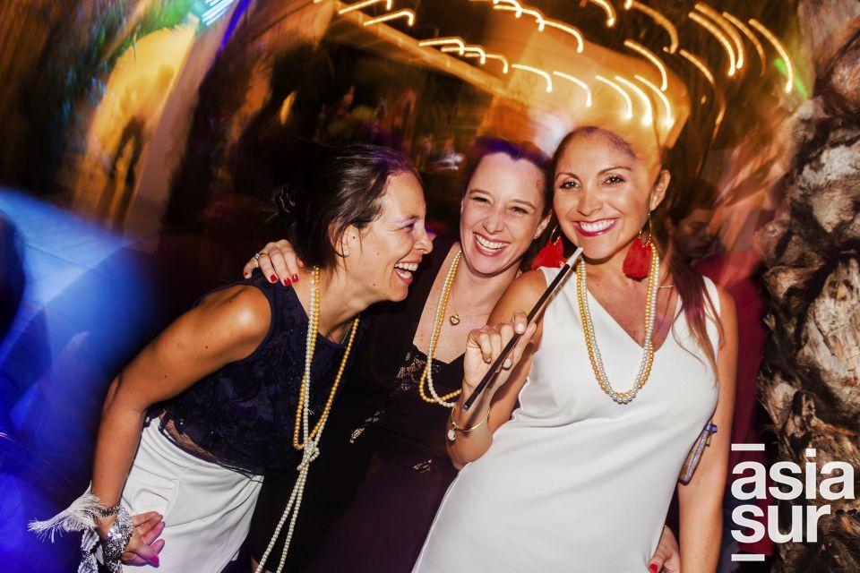 Cristina Castillo, Monica Corrochano y Ana Osorio en Amadeus, Boulevard de Asia.