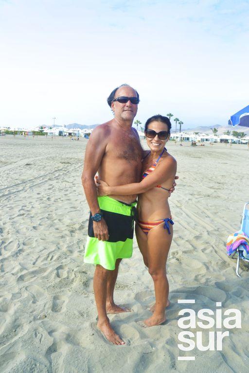 Gino y Rossana Perroni en Kapala.