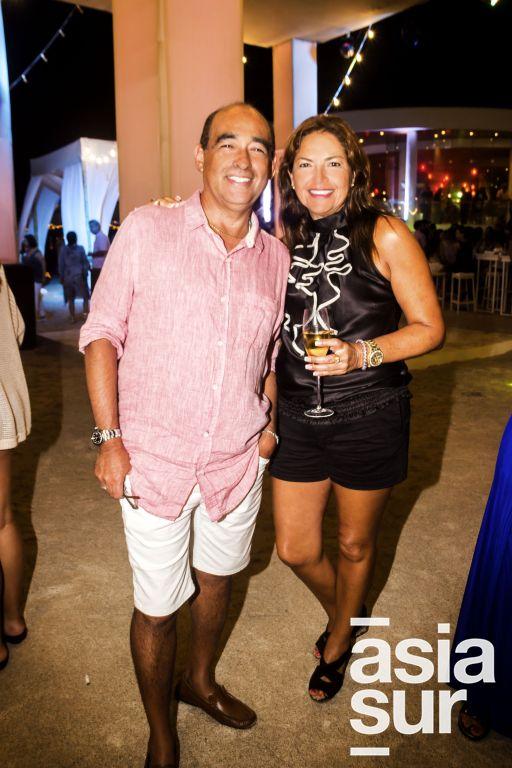 Javier Otoya y Monica Delgado.