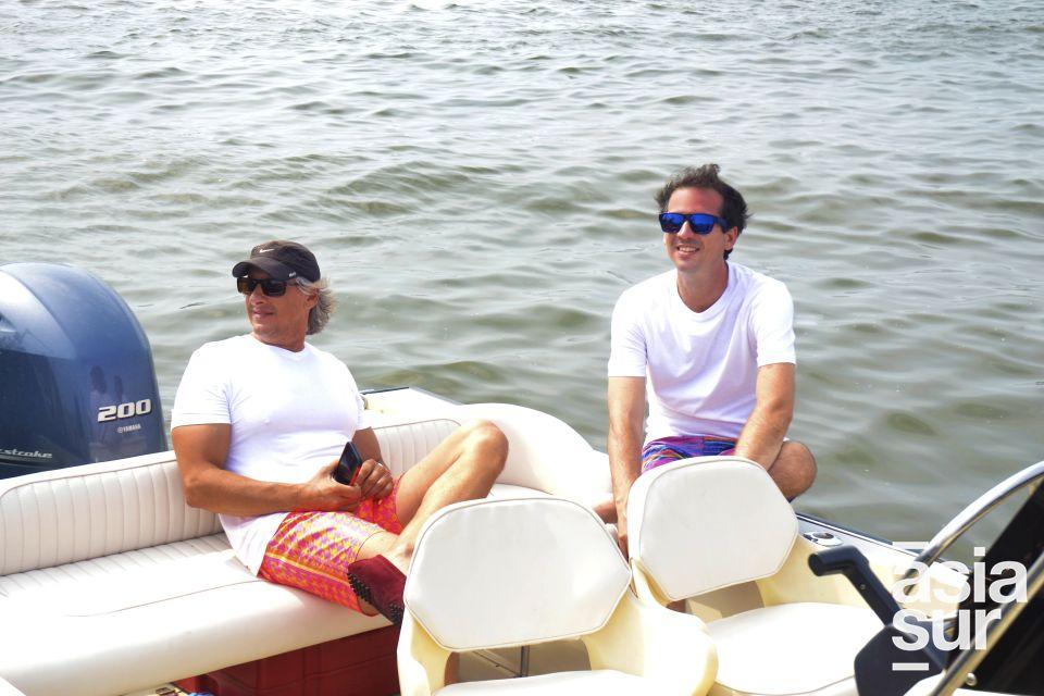 Jimy Pflucker y Diego Nicolini.