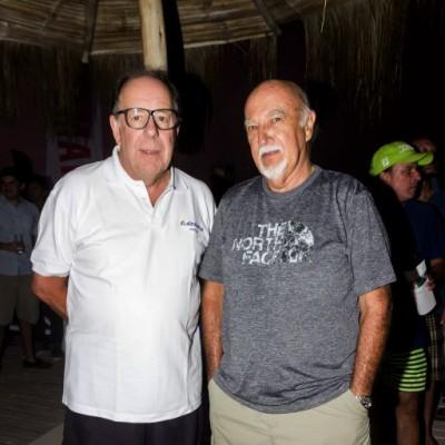 Jose Luis Canessa y Rafael Dangelo.