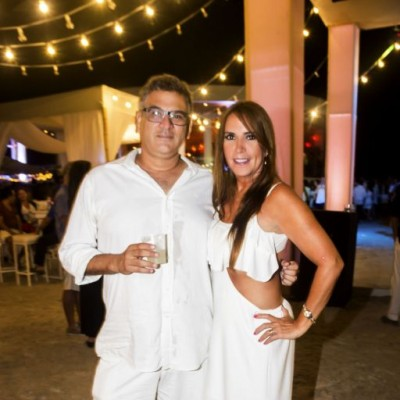 Juan Guanira y Mili Merino.
