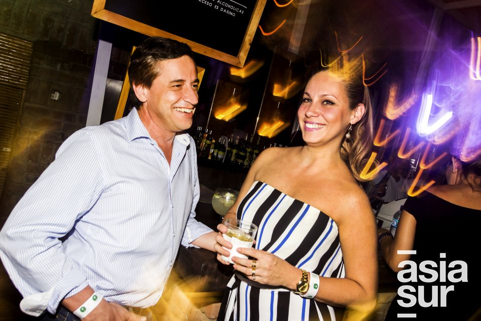 Juan Ignacio y Jackie de La Vega en Amadeus, Boulevard de Asia.