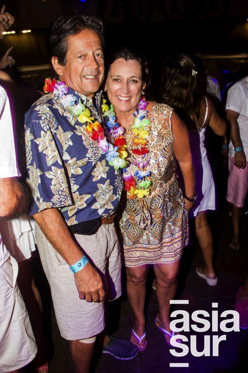 Luis Echevarria y Ana Cecilia Palacios.
