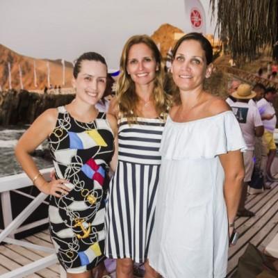 Luz Maria Rubini, Ximena Miró Quesada y Mate Picasso.