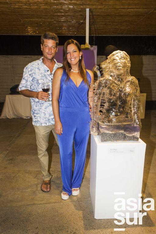 Marcello Croci y Francesca Ferrero.