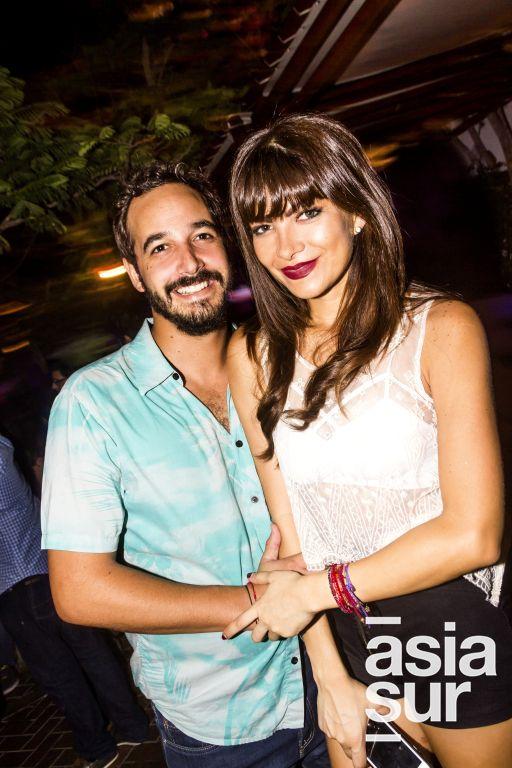 Mateo Chavez-Taffur y Daniela Pereira en Nikita, Boulevard de Asia.