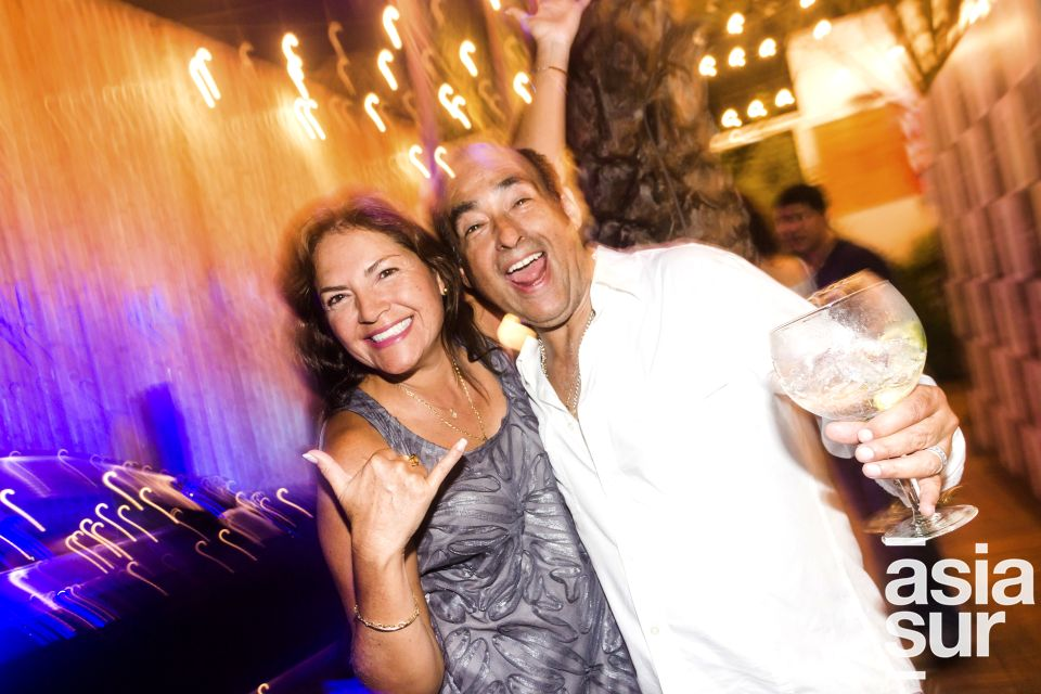 Monica Delgado y Javier Otoya en Amadeus, Boulevard de Asia.