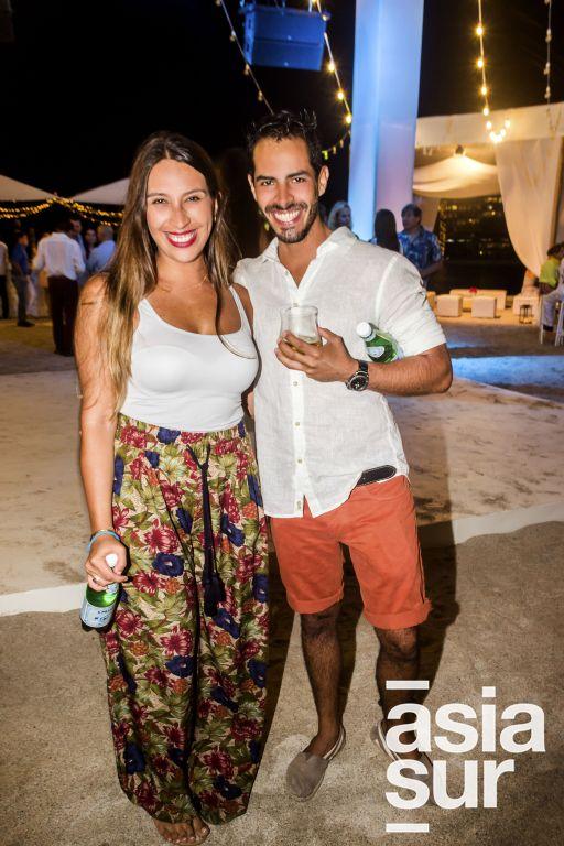 Natalia Portilla y Jaime Valqui.