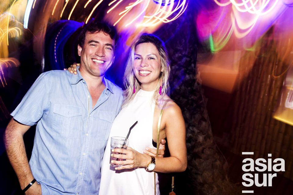 Oscar Bossio y Cynthia Tamayo en Amadeus, Boulevard de Asia.