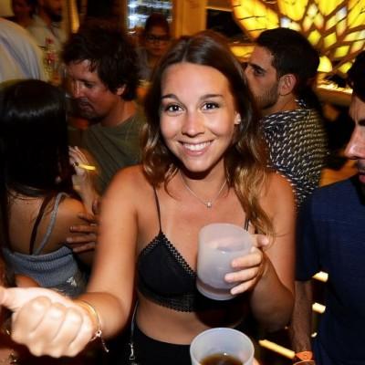 Pámela Ruiz en Resident, Punta Negra.