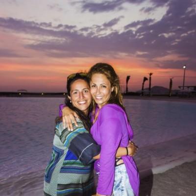 Paloma Vargas y Alexandra Molina
