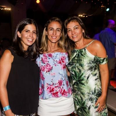 Patty Vegas, Nany Valdez y Sandra Delgado.
