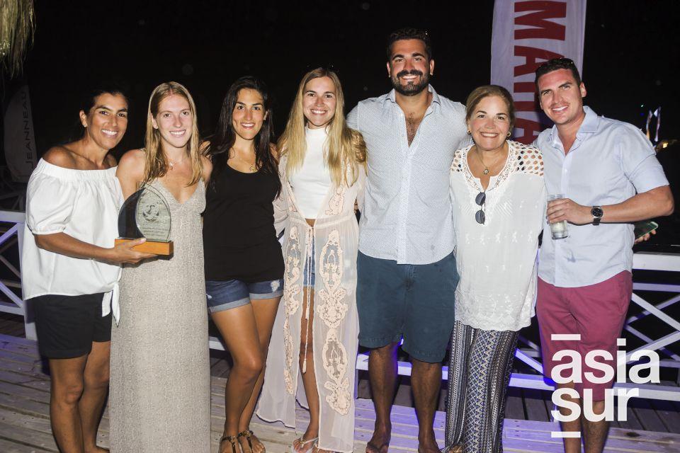 Pilar Diez Gallo, Raffaella Garcia, Lucia Bringas, Andrea Olivares Pablo Lupis, Kika Dávila  y Jose de Madalengoitia.