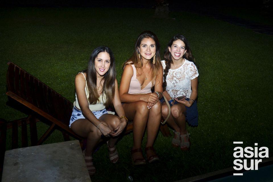 Pilar Vertiz, Maria Paula Zevallos y Jimena Cabrejos.