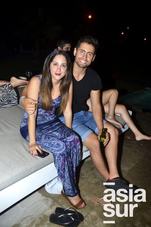 Pilar Vertiz y Renzo Palermo.
