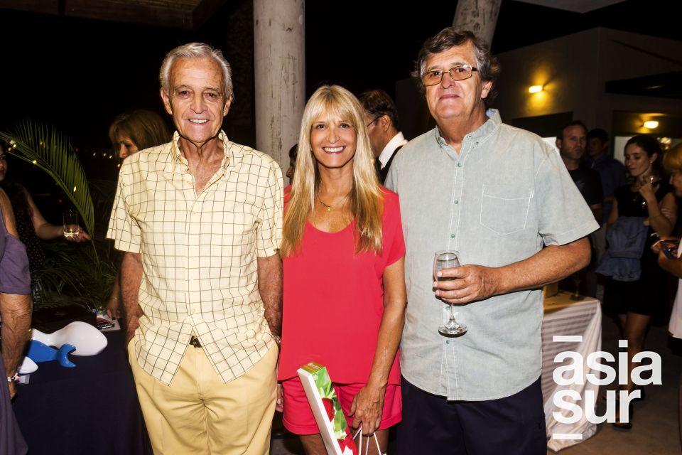Raul Ferrero, Le y Willy Barcley.