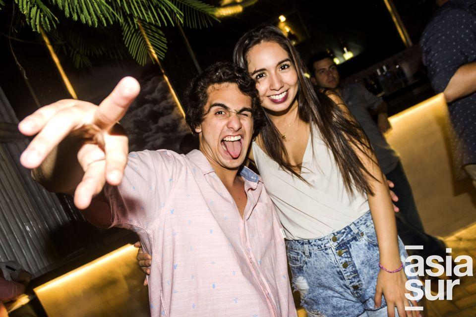 Renato Morzan y Paula Moreno en Nikita, Boulevard de Asia.