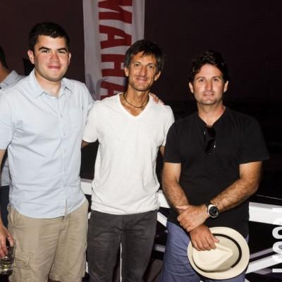 Ricardo Garrido, Juan Pablo Cadario y Fede Calabrese.