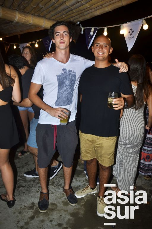 Roberto Revello y Mauricio Salem.