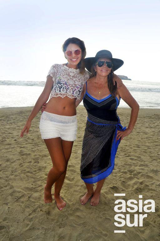 Sofia Oviedo y Vilma la Torre en Flamencos.