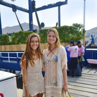 Sol Ferreyra y Fernanda Tola.