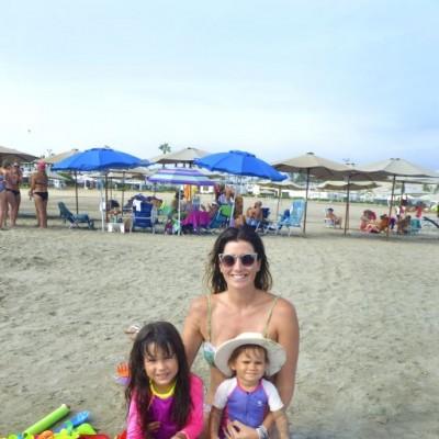 Valeria Chavez, Amelie y Naomi Day en Cocos.