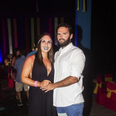 Alessandra Vidaurre e Ignacio Roel.