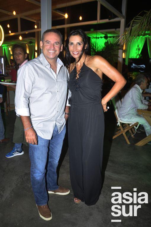 Alex Von Ehren y Sandra Freyre.