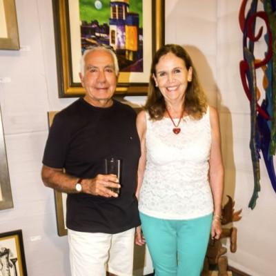 Alfredo Guzman y Elisa Velasco.