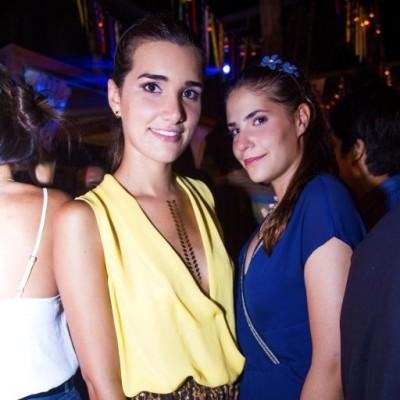 Almendra Delgado y Camila Lozina.