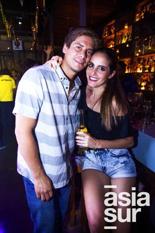 Alonso Peña y Claudia Ponce.