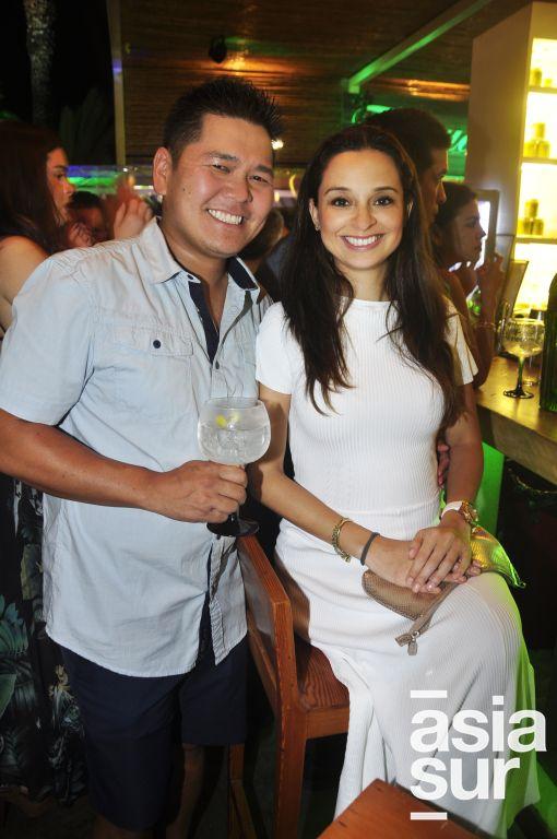 Andrés Furukawa y Diana Esparza.